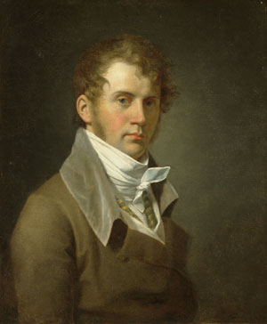 Portrait of the Artist 1800   John Vanderlyn   Oil Painting