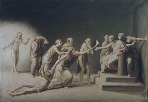The Calumny of Apelles 1849 | John Vanderlyn | Oil Painting