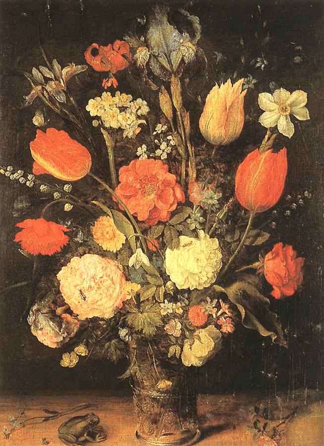Flowers | Jan The Elder Brueghel | Oil Painting
