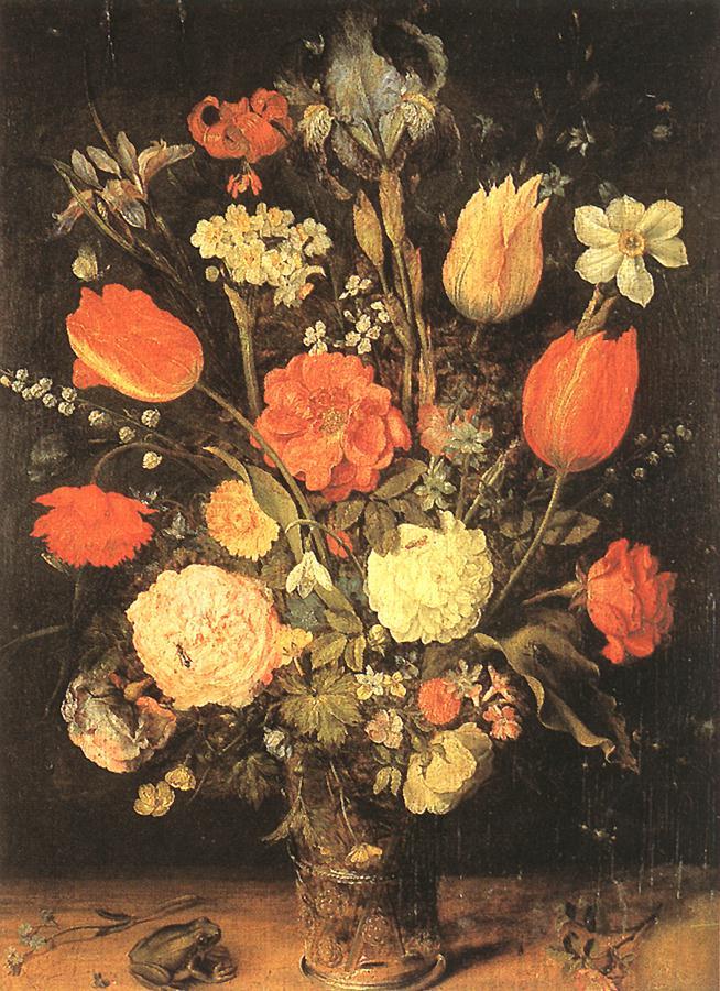 Flowers | Jan The Elder Brueghel | Oil Painting