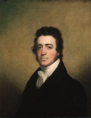 Augustus Washington Clason 1820 | John Wesley Jarvis | Oil Painting