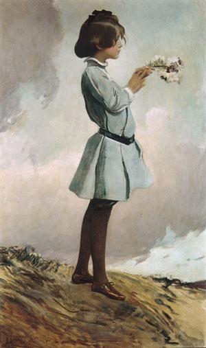 Geraldine Russell 1902 or 1903 | John White Alexander | Oil Painting