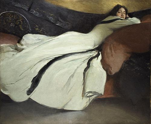 Repose 1895 | John White Alexander | Oil Painting