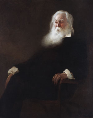 Walt Whitman 1889 | John White Alexander | Oil Painting
