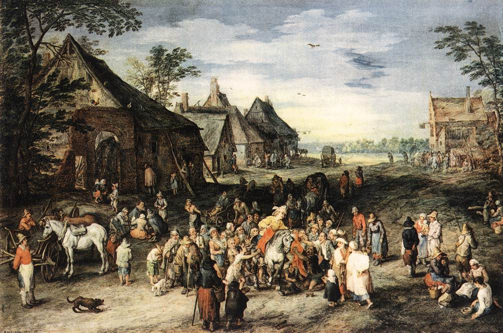 St Martin | Jan The Elder Brueghel | Oil Painting