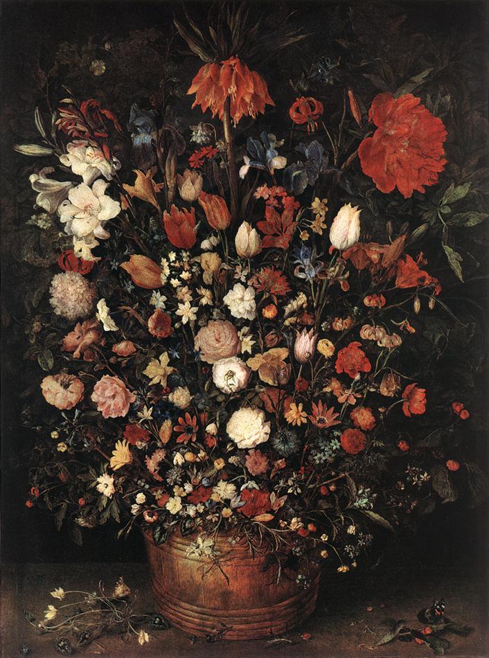 The Great Bouquet 1607 | Jan The Elder Brueghel | Oil Painting