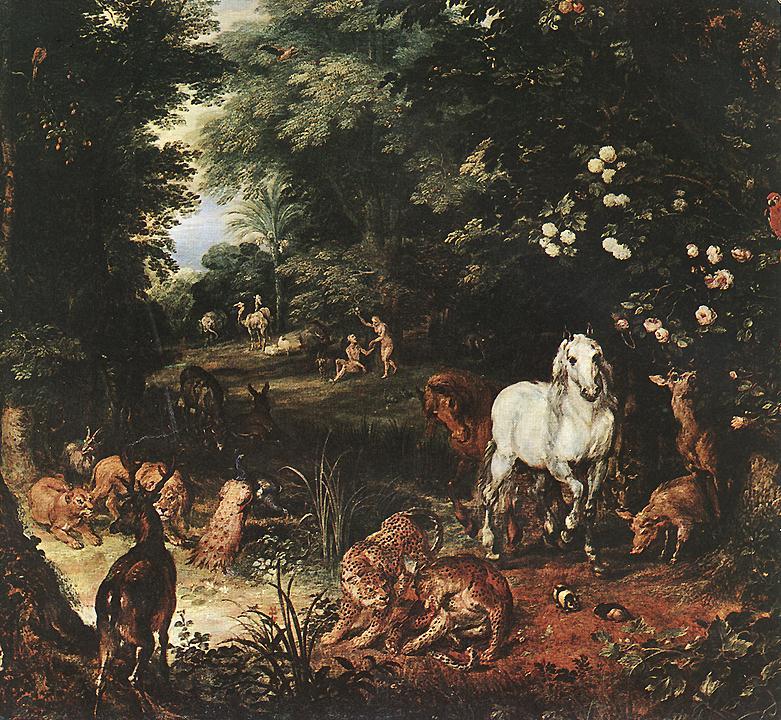 The Original Sin (Detail) 1616 | Jan The Elder Brueghel | Oil Painting