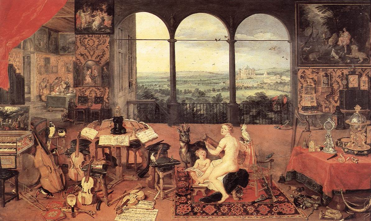 The Sense Of Hearing 1618 | Jan The Elder Brueghel | Oil Painting