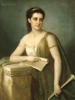 Calliope 1869 | Joseph Fagnani | Oil Painting
