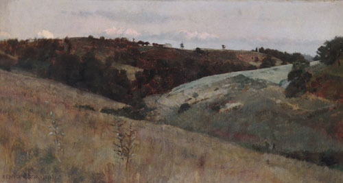 Landscape 1883 | Kenyon Cox | Oil Painting