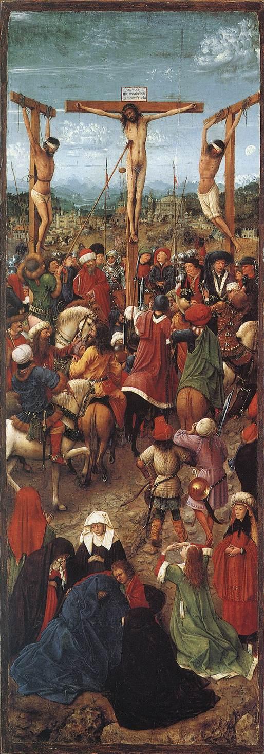 Crucifixion | Jan Van Eyck | Oil Painting