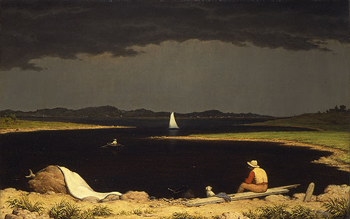 Approaching Thunder Storm 1859 | Martin Johnson Heade | Oil Painting