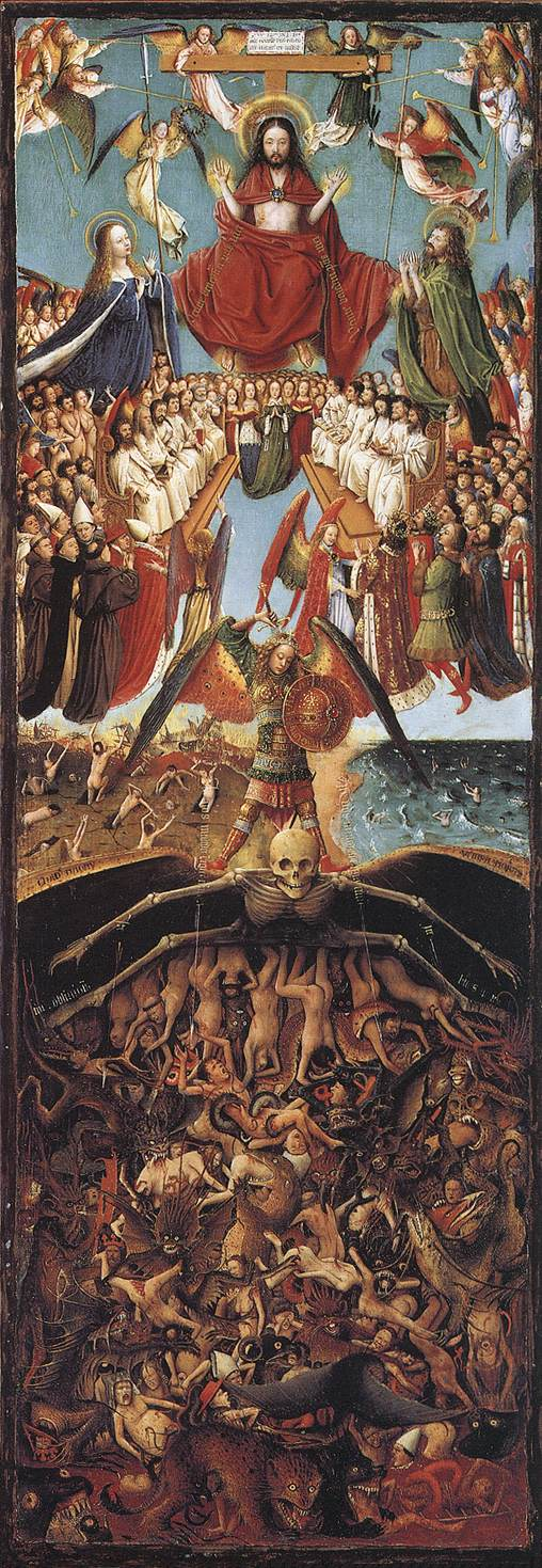 Last Judgment | Jan Van Eyck | Oil Painting