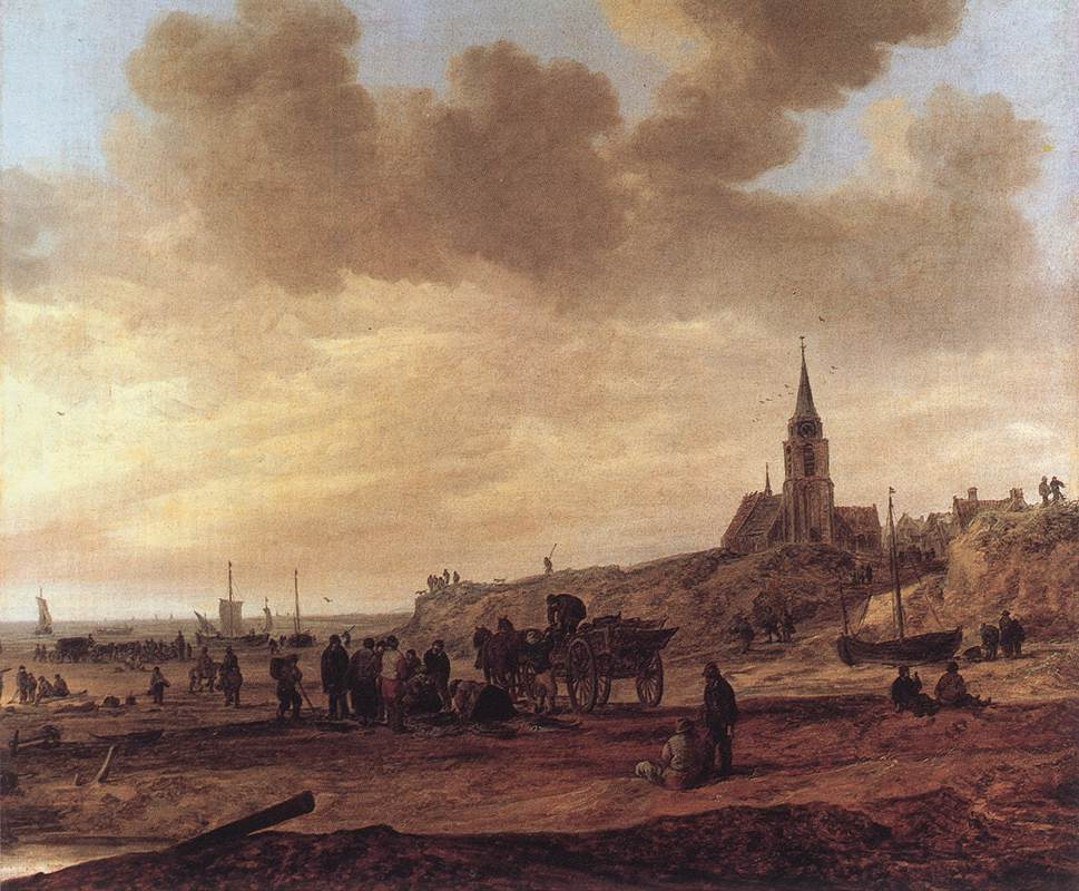Dunes 1629 | Jan Van Goyen | Oil Painting