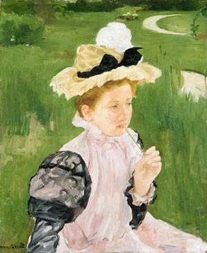 Portrait of a Young Girl 1899 | Mary Cassatt | Oil Painting