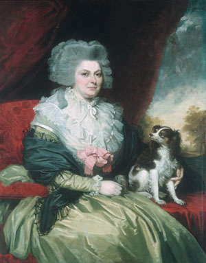 Lady with a Dog 1786 | Mather Brown | Oil Painting
