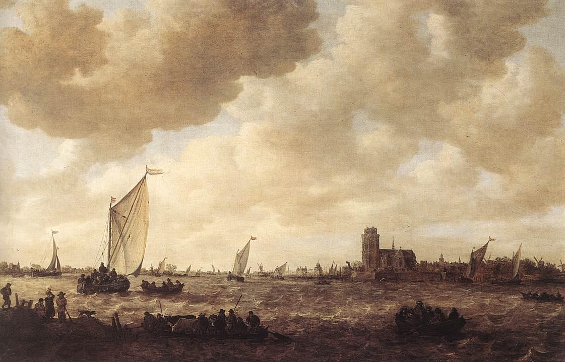 View Of Dordrecht 1644-53 | Jan Van Goyen | Oil Painting