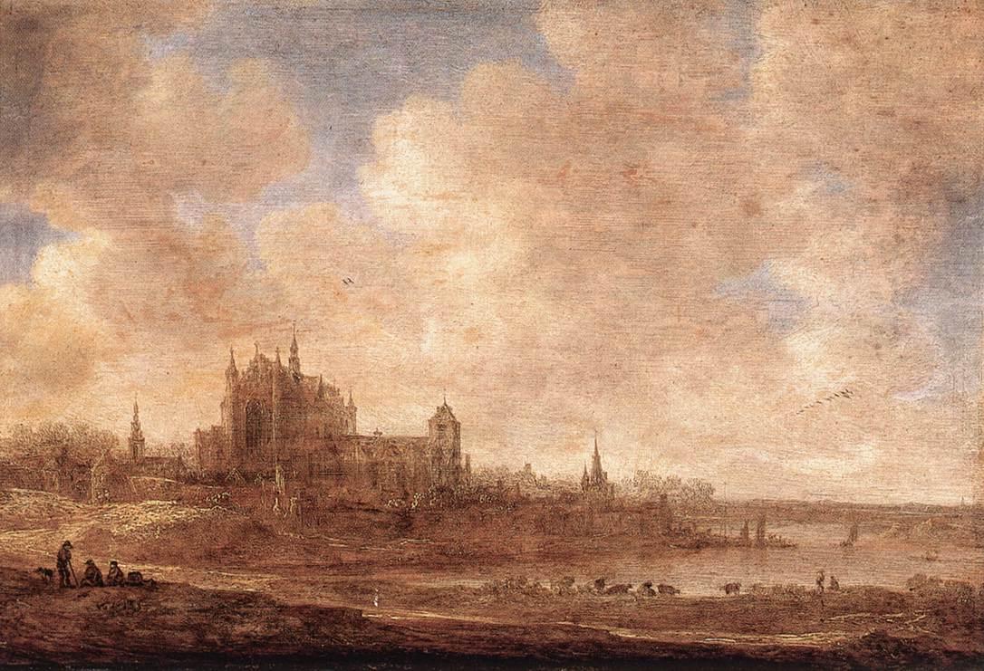 View Of Leiden 1643 | Jan Van Goyen | Oil Painting