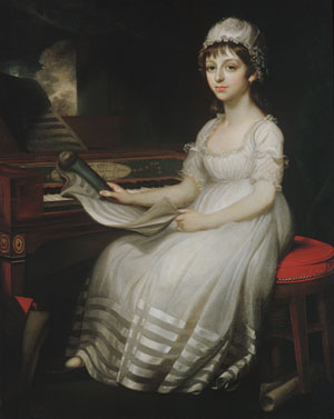 Portrait of a Young Woman 1801 | Mather Brown | Oil Painting