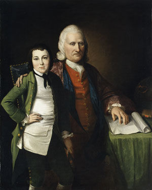 Cadwallader Colden and His Grandson Warren De Lancey 1772 | Matthew Pratt (1734 1805) | Oil Painting