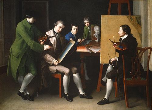 The American School 1765   Matthew Pratt (1734 1805)   Oil Painting