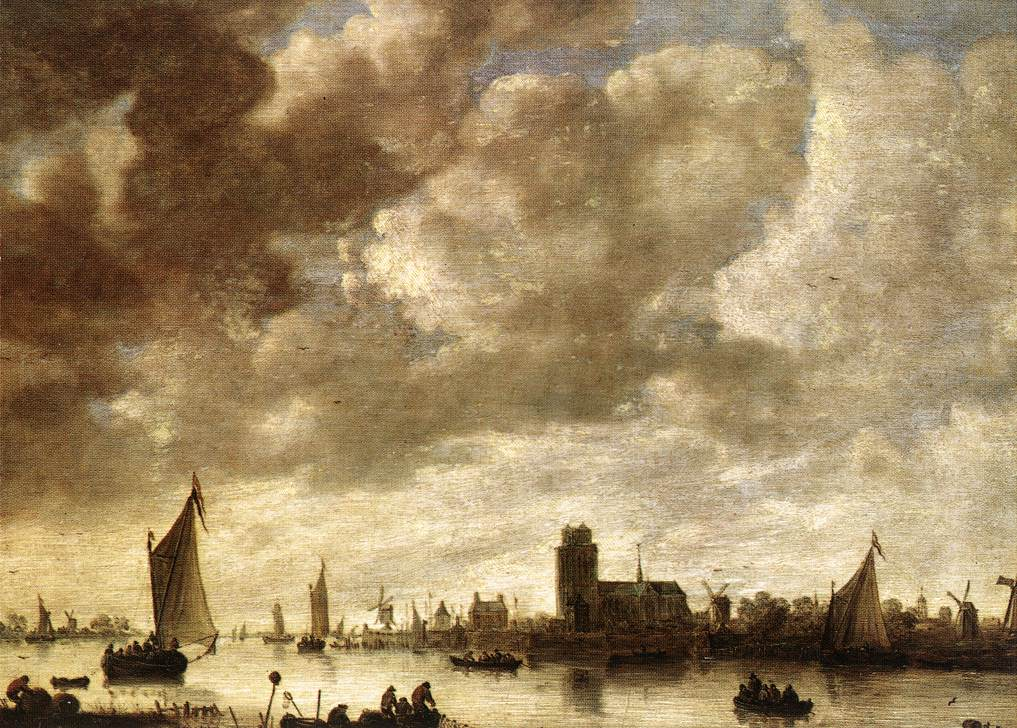 View Of The Merwede Before Dordrecht | Jan Van Goyen | Oil Painting