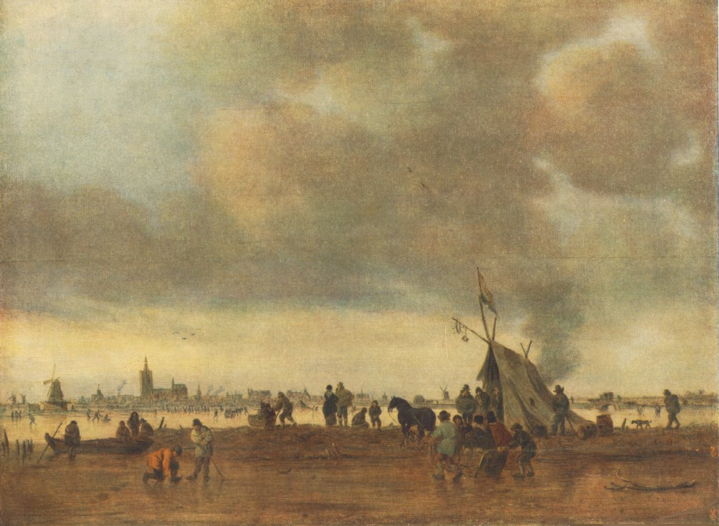 Winter 1645 | Jan Van Goyen | Oil Painting