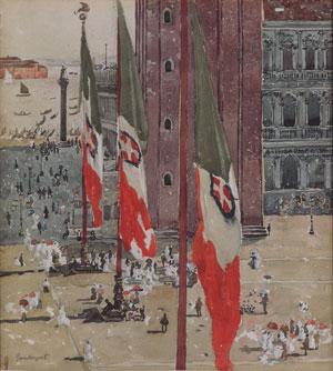 Piazza di San Marco | Maurice Prendergast | Oil Painting