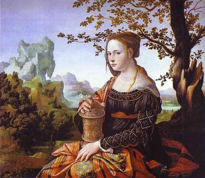 Mary Magdalene 1529 | Jan Van Scorel | Oil Painting