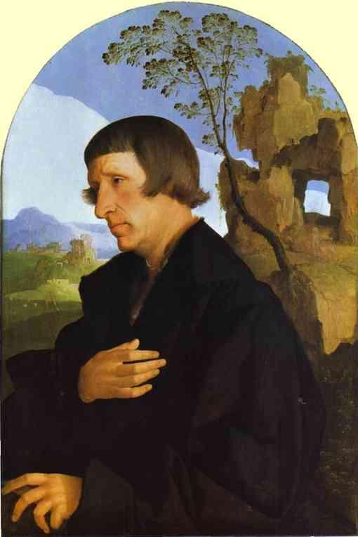 Portrait Of A Man 1535 | Jan Van Scorel | Oil Painting