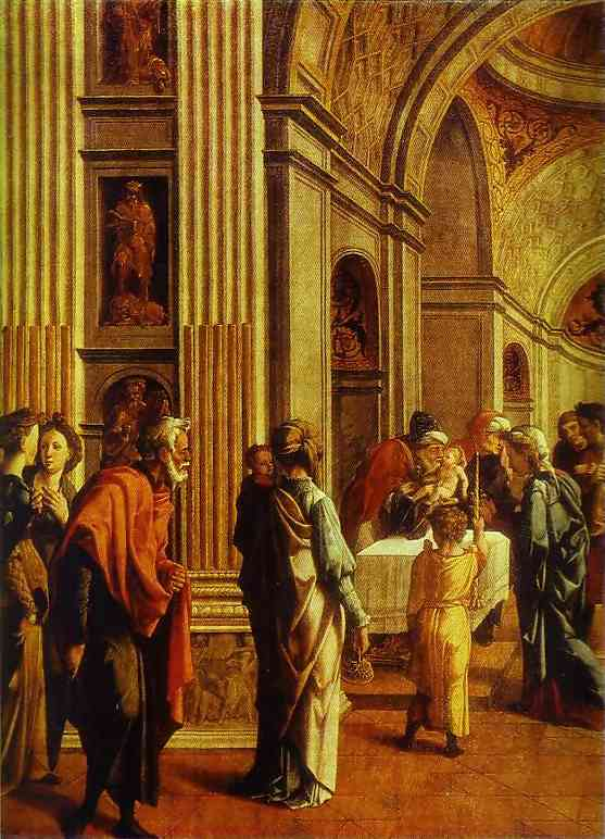 Presentation In The Temple 1528-1530 | Jan Van Scorel | Oil Painting