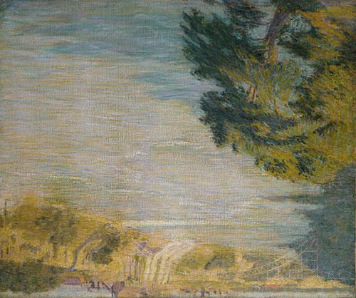 Niagara Falls 1902 | Philip L Hale | Oil Painting