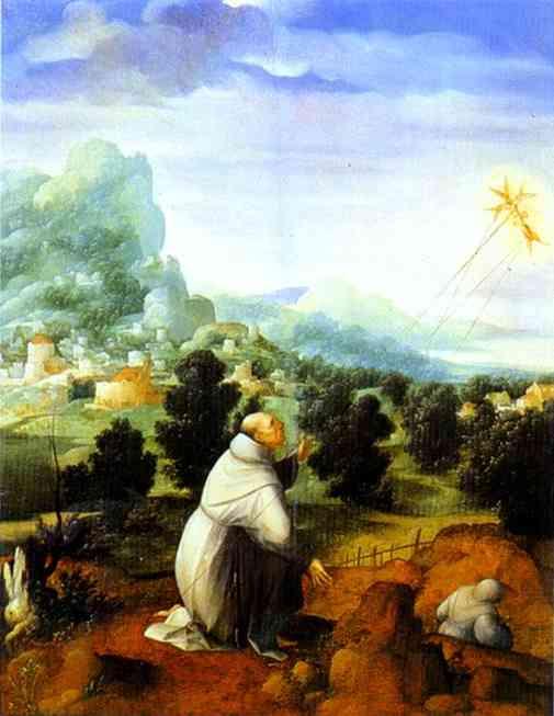 The Stigmata Of St Francis | Jan Van Scorel | Oil Painting