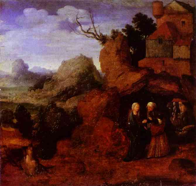 The Visitation | Jan Van Scorel | Oil Painting
