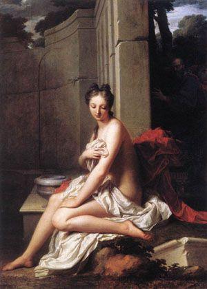 Susanna at the Bath 1704 | Jean Baptiste Santerre | Oil Painting