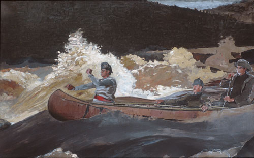 Shooting the Rapids Saguenay River 1905 | Winslow Homer | Oil Painting