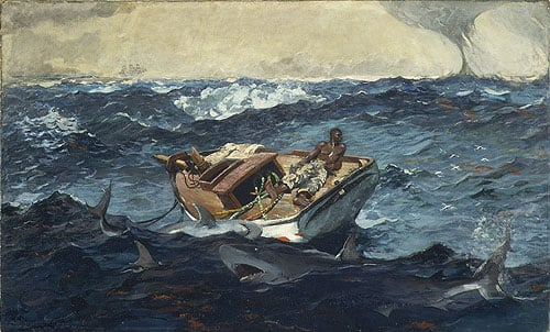 The Gulf Stream 1899 | Winslow Homer | Oil Painting
