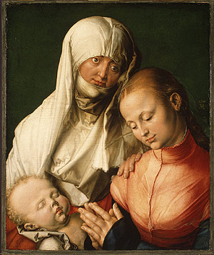 Virgin and Child with Saint Anne probably 1519 | Albrecht Durer | Oil Painting