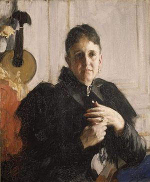 Mrs John Crosby Brown ca 1900   Anders Leonard Zorn   Oil Painting
