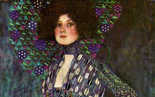 Emilie Floge Detail 1902