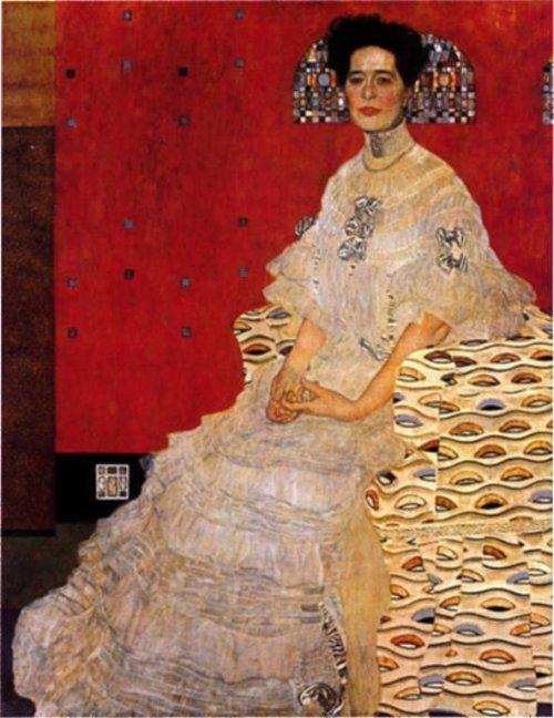 Bildnis Frieza Riedler 1906