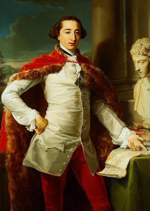 Portraits Of A Gentleman 1760-1770 | Pompeo Girolamo Batoni | Oil Painting