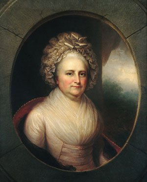 Martha Washington 1850 | Rembrandt Peale | Oil Painting