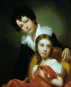 Michael Angelo and Emma Clara Peale 1826 | Rembrandt Peale | Oil Painting