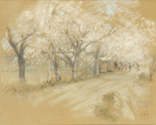 Spring Landscape | Robert Blum | Oil Painting
