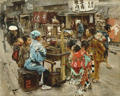 The Ameya 1893 | Robert Blum | Oil Painting