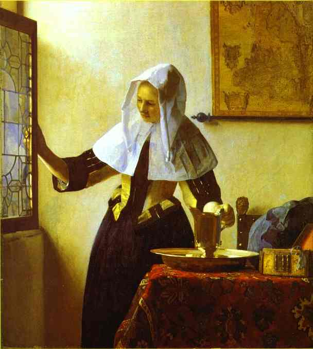 Oman With A Water Jug 1664-1665 | Jan Vermeer | Oil Painting