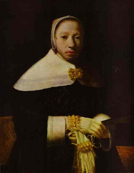 Portrait Of A Woman | Jan Vermeer | Oil Painting