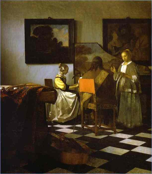 The Concert 1665-1666 | Jan Vermeer | Oil Painting