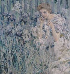 Fleur de Lis | Robert Reid | Oil Painting